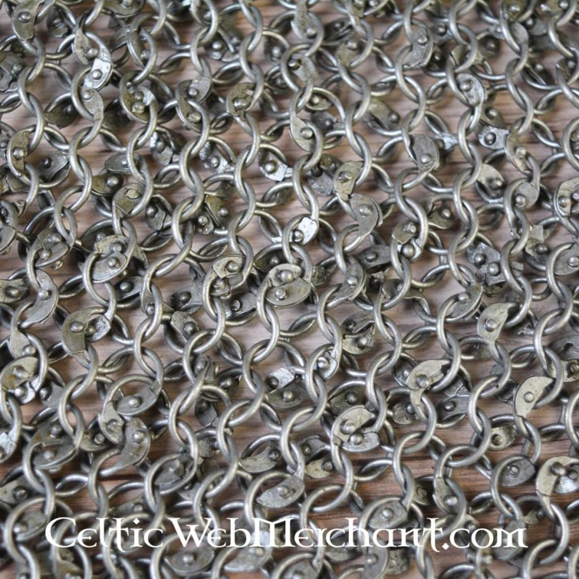 Ulfberth Colletin, anneaux ronds - rivets ronds, 8 mm