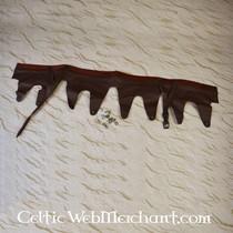 Casco Attic con cresta, latón