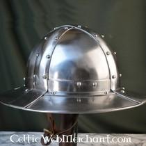 Ulfberth cappello di ferro con bordo e visiera