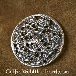Viking Brosche Borre Stil Bronze