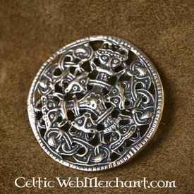 Viking broche Borrestyle bronze