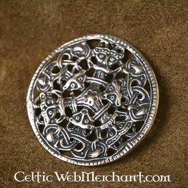 Viking brosch Borrestyle brons