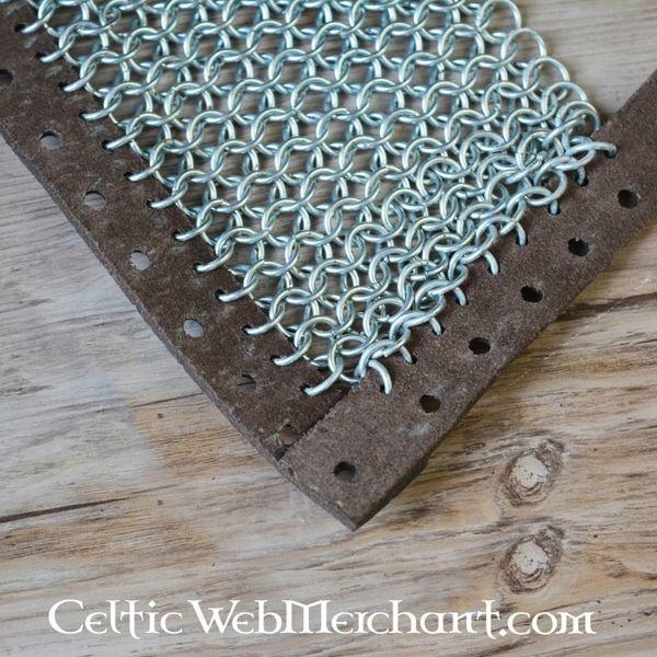 Ulfberth Chain mail sabatons, galvaniseret, 8 mm