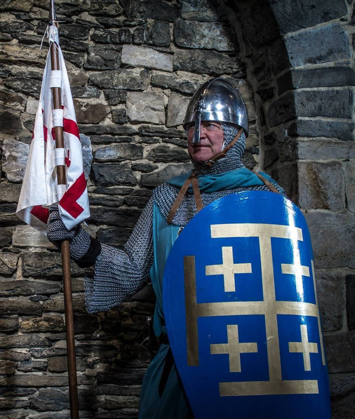 Medieval knight of the Holy land