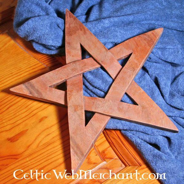 Holz Pentagramm