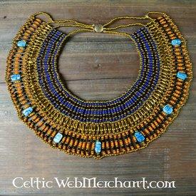 Egyptiske halskæde Nefertiti 25 cm