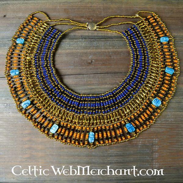 Collier égyptien Nefertiti 25 cm