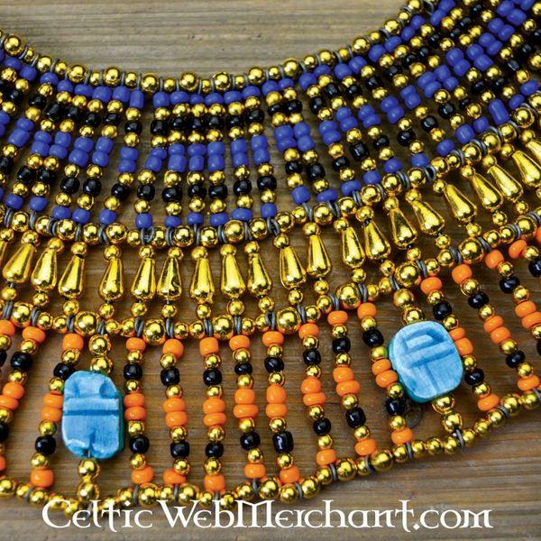 Egyptisk halsband Nefertiti 25 cm