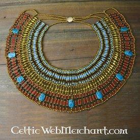Egyptiske halskæde Nefertiti 34 cm