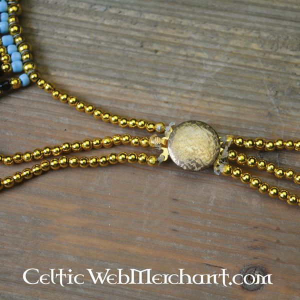 Colar egípcia Nefertiti 34 centímetros