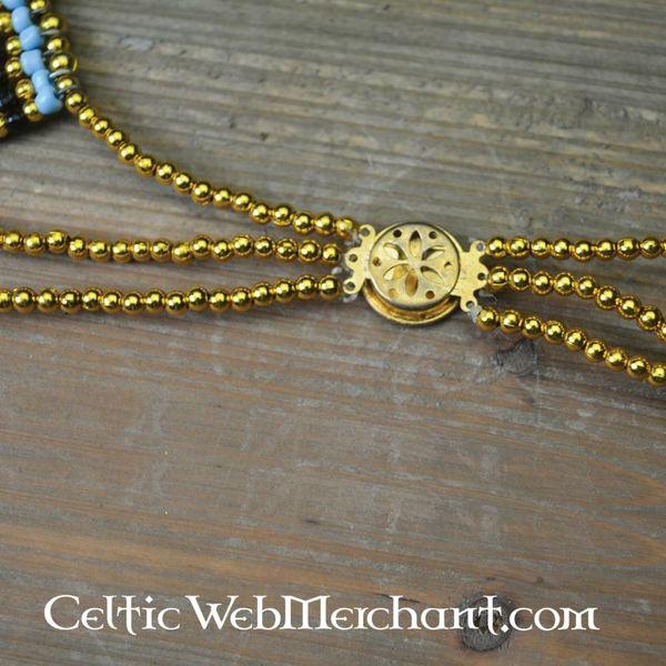 Egyptische ketting Nefertiti 34 cm