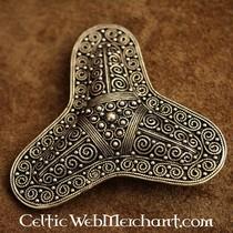 Medieval hår & skæg perle sølv