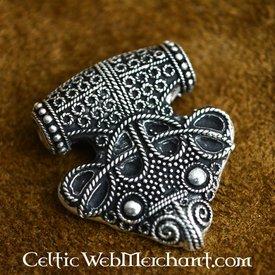 Luxuoso do martelo do Thor amuleto Sigtuna