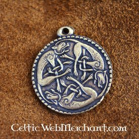 Pewter wild hunt pendant