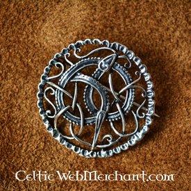Prata Urnesstyle Vikingbroche