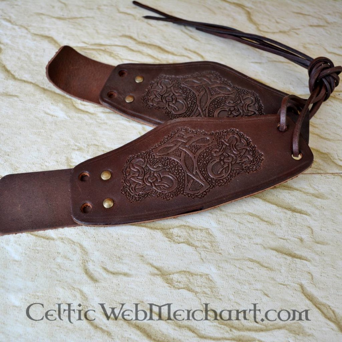 Par Viking håndledsbeskyttere