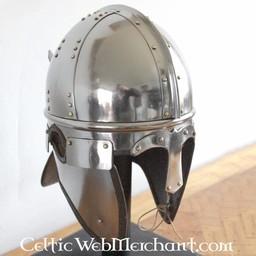 Late-romersk hjälm Burgh Castle