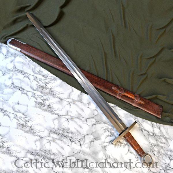 Deepeeka Épée à une main de Norman, type Oakeshott X, prête au combat