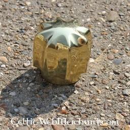 Brass mace head