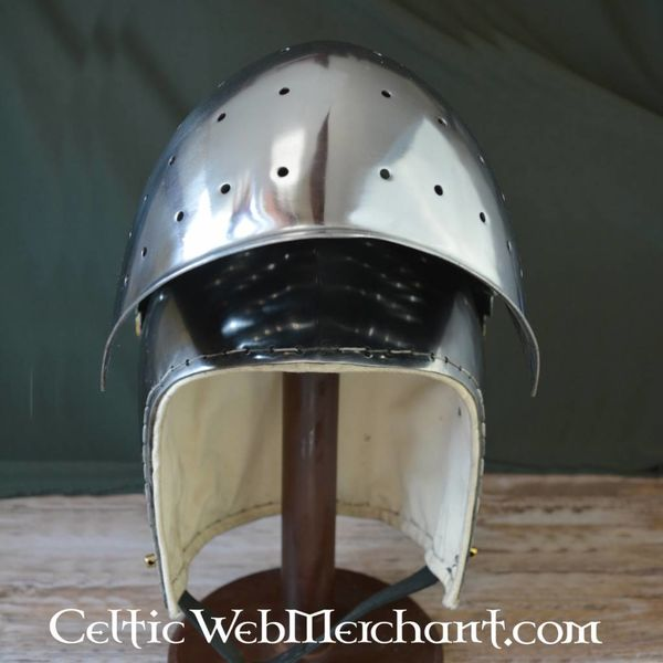 Ulfberth Battle-ready closed bascinet