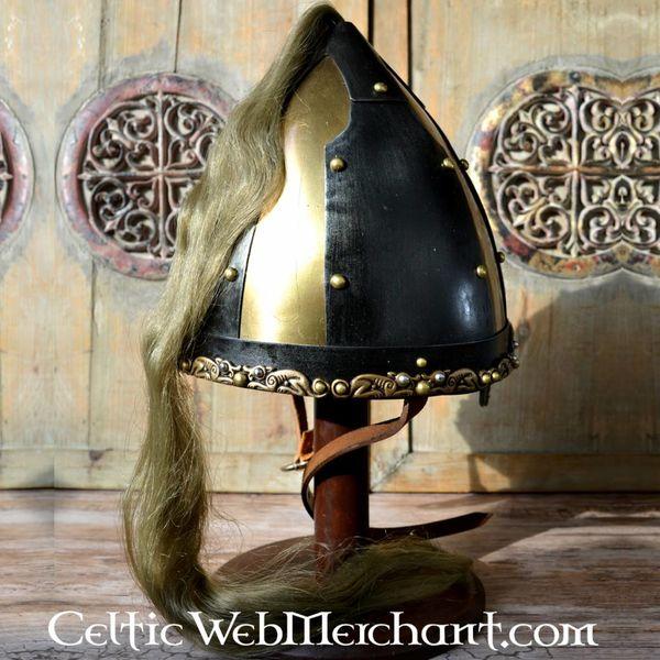 Deepeeka Rusvik casco con pelo de caballo