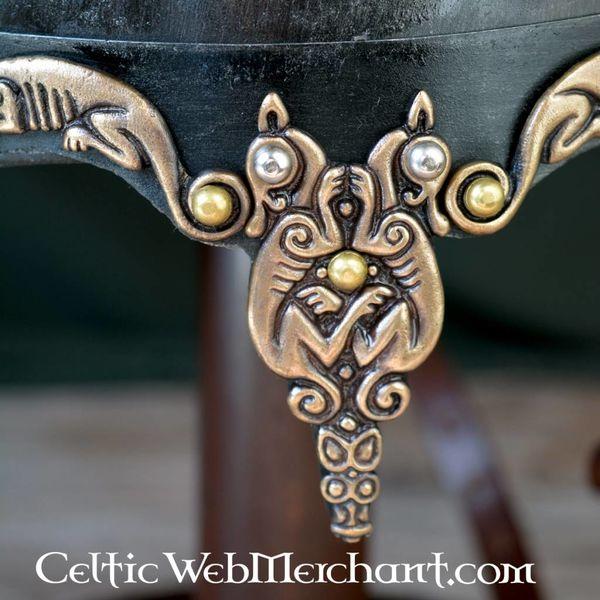 Deepeeka Rusvik casque avec crin de cheval