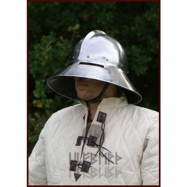 Ulfberth Kettle hat with edge and visor