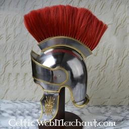 Attische helm met helmkam