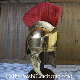 Deepeeka Attic Helm mit Kamm, Messing