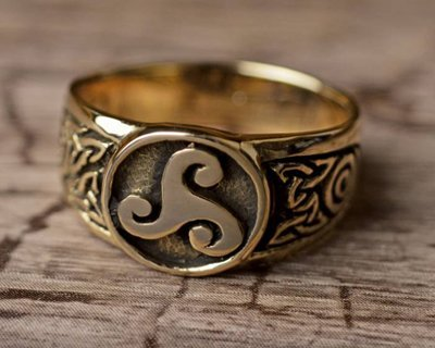 Nowoczesna biżuteria celtycka