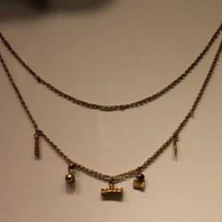 Collane in argento e bronzo