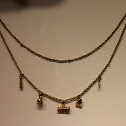 Silver & bronze necklaces
