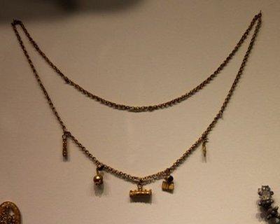 Silver och brons halsband