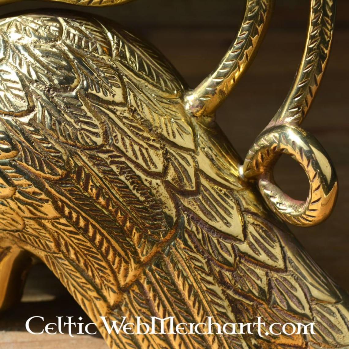 Deepeeka Gotische kandelaar met griffioen