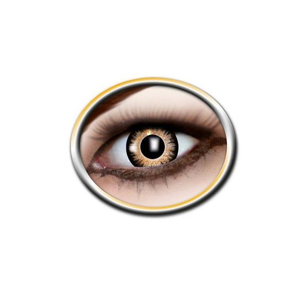 Epic Armoury Coloured contact lenses black and yellow