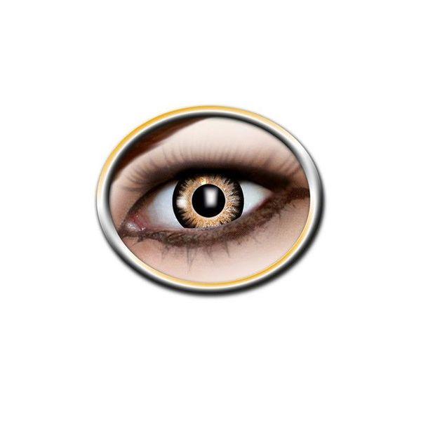 Epic Armoury Gekleurde contactlenzen zwart en geel