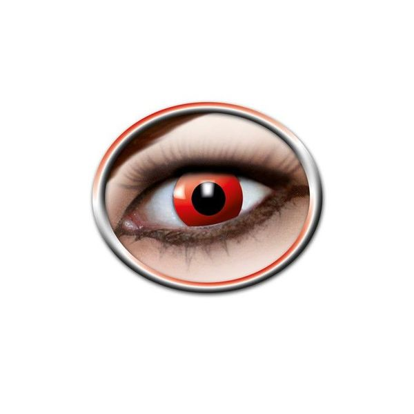 Epic Armoury Gekleurde lenzen rood oog