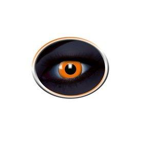Epic Armoury Coloured contact lenses UV orange