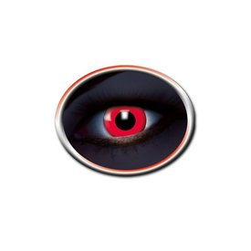 Epic Armoury lentes de contato coloridas UV vermelho