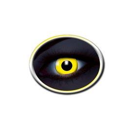 Epic Armoury lentilles de contact UV de couleur jaune