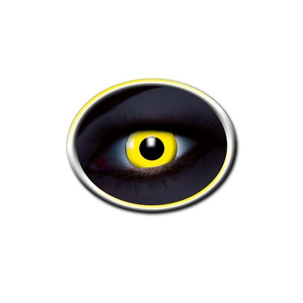 Epic Armoury Coloured contact lenses UV yellow