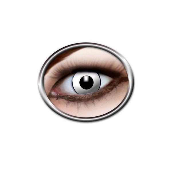 Epic Armoury Kolorowe soczewki kontaktowe biały