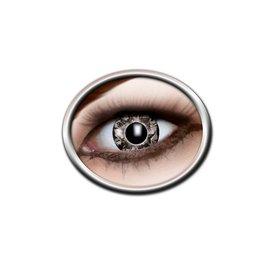 Epic Armoury Gekleurde contactlenzen zwart-grijs