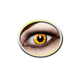 Epic Armoury Farvede kontaktlinser gul og rød