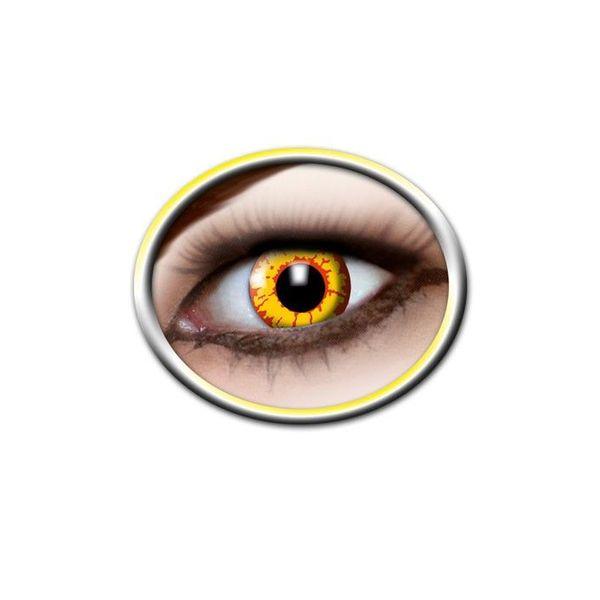 Epic Armoury Gekleurde contactlenzen geel en rood