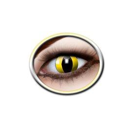 Epic Armoury Lentes de contacto de color amarillo ojos de gato
