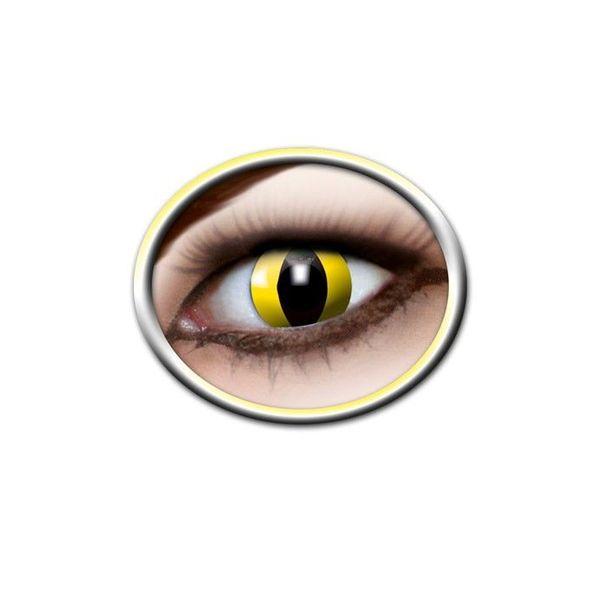 a77a78e75e Epic Armoury Lentes de contacto de color amarillo ojos de gato