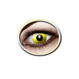 Epic Armoury Farbige Kontaktlinsen leuchtend gelb