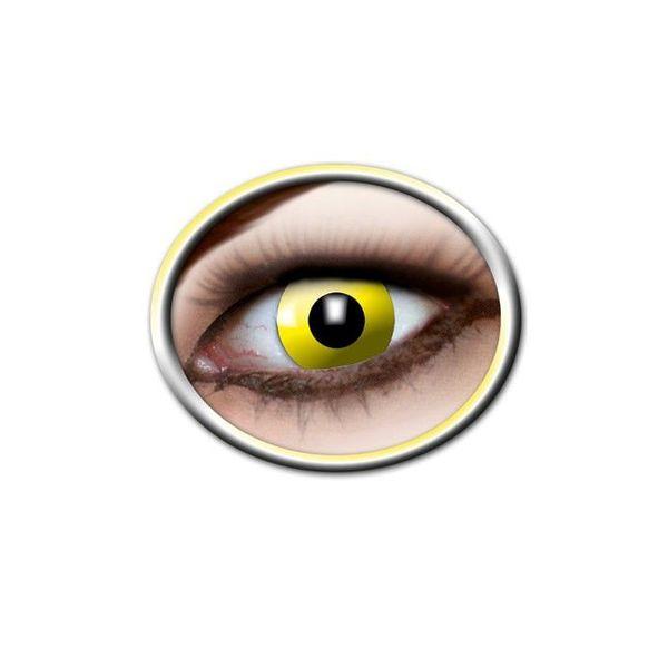 Epic Armoury lentilles de contact de couleur jaune vif