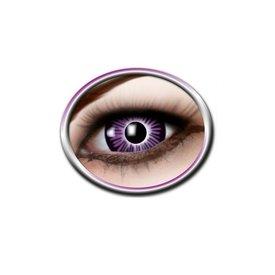 Epic Armoury Farbige große Augenkontaktlinsen lila